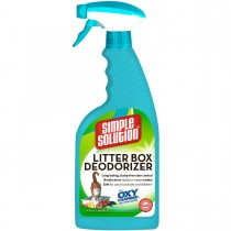 "Simple Solution Cat Litter Box Deodorizer 16oz 1.75"" x 4.5"" x 11"""
