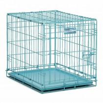 """Midwest iCrate Single Door Dog Crate Blue 24"""" x 18"""" x 19"""" - 1524BL"""