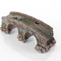 """BioBubble Decorative Old Stone Bridge Small 3.5"""" x 3.5"""" x 5"""" - BIO-60227400"""