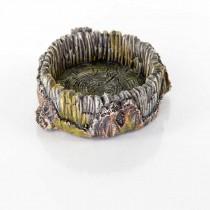 """BioBubble Decorative Stump Bowl Small 5"""" x 4.25"""" x 1.6"""" - BIO-60231100"""