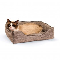"K&H Pet Products Amazin' Kitty Lounge Sleeper Gray 13"" x 17"" x 3"" - KH5205"