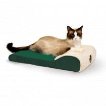 """K&H Pet Products Ultra Memory Chaise Pet Lounger 14"""" x 22"""" x 4"""""""