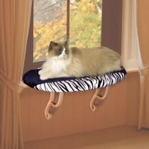 """K&H Pet Products Kitty Sill Zebra 14"""" x 24"""" x 9"""" – KH9096"""