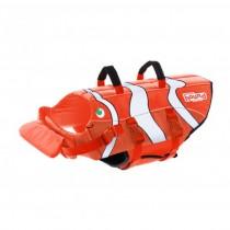 Outward Hound Ripstop Fun Fish Dog Life Jacket Small Orange